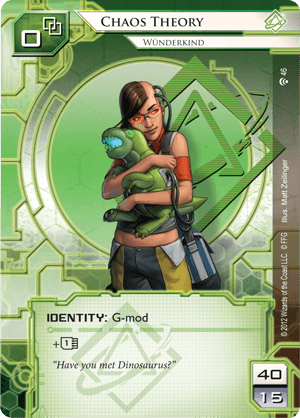Android Netrunner Chaos Theory: Wünderkind Image