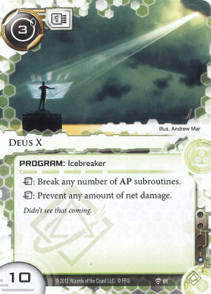 Android Netrunner Deus X Image