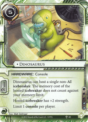 Android Netrunner Dinosaurus Image