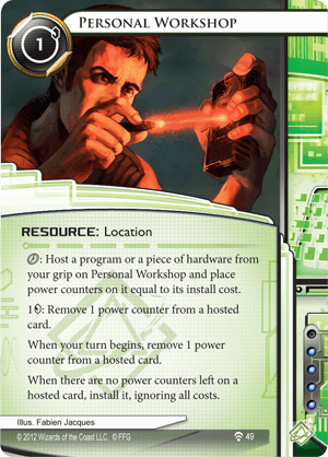 Android Netrunner Personal Workshop Image