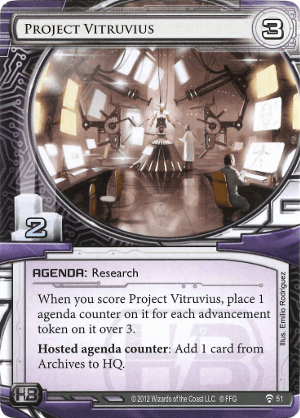 Android Netrunner Project Vitruvius Image