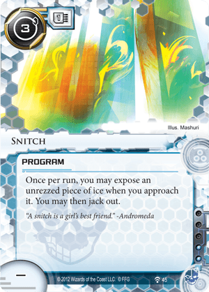 Android Netrunner Snitch Image