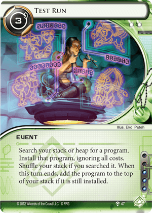 Android Netrunner Test Run Image
