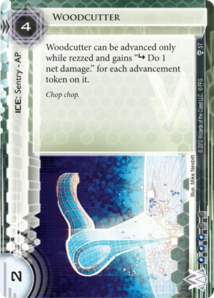 Android Netrunner Woodcutter Image