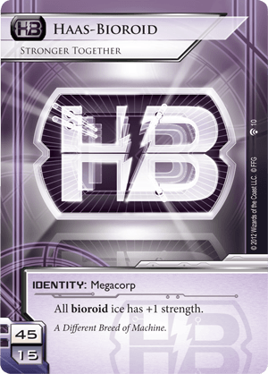 Android Netrunner Haas-Bioroid: Stronger Together Image