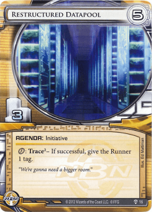 Android Netrunner Restructured Datapool Image