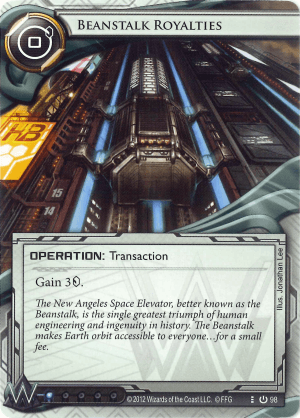 Android Netrunner Beanstalk Royalties Image