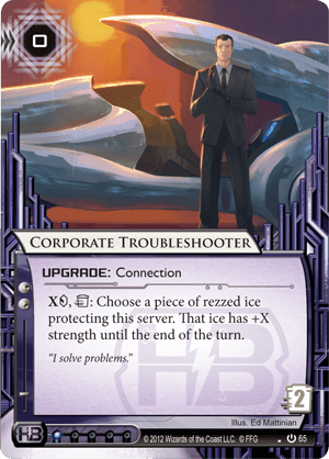 Android Netrunner Corporate Troubleshooter Image