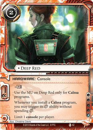 Android Netrunner Deep Red Image