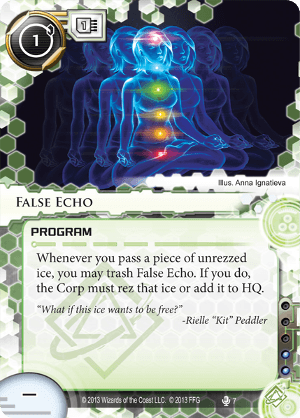 Android Netrunner False Echo Image