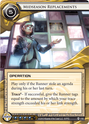 Android Netrunner Midseason Replacements Image