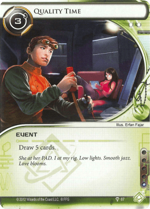 Android Netrunner Quality Time Image