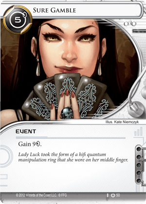 Android Netrunner Sure Gamble Image