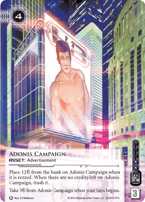 Android Netrunner Adonis Campaign Image