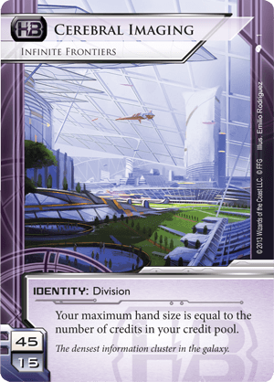 Android Netrunner Cerebral Imaging: Infinite Frontiers Image