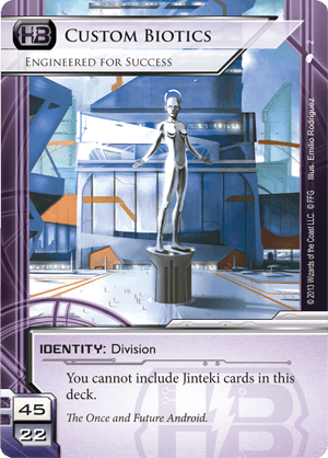 Android Netrunner Custom Biotics: Engineered for Success Image
