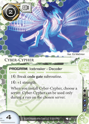 Android Netrunner Cyber-Cypher Image