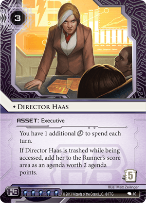 Android Netrunner Director Haas Image