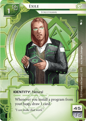 Android Netrunner Exile: Streethawk Image