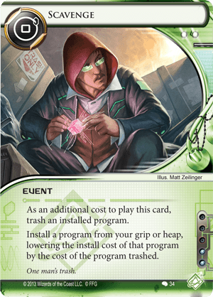 Android Netrunner Scavenge Image