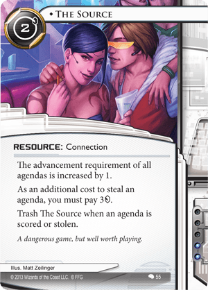 Android Netrunner The Source Image