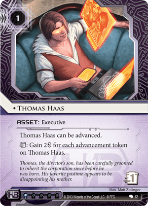 Android Netrunner Thomas Haas Image