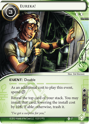 Android Netrunner Eureka! Image