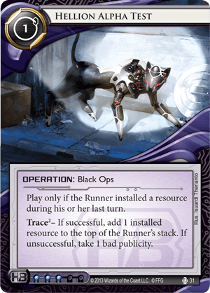Android Netrunner Hellion Alpha Test Image