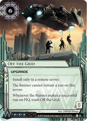 Android Netrunner Off the Grid Image