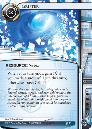Android Netrunner Grifter Image