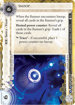 Android Netrunner Snoop Image