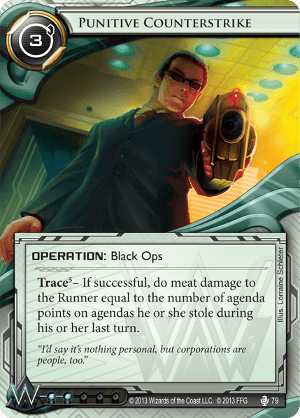 Android Netrunner Punitive Counterstrike Image