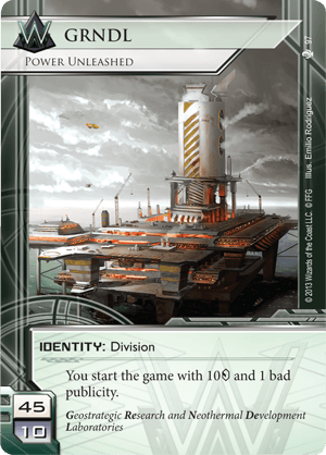 Android Netrunner GRNDL: Power Unleashed Image