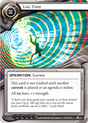 Android Netrunner Lag Time Image