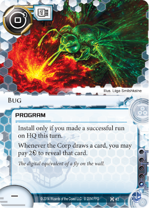 Android Netrunner Bug Image