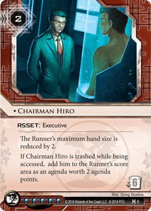 Android Netrunner Chairman Hiro Image