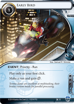 Android Netrunner Early Bird Image