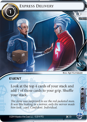 Android Netrunner Express Delivery Image