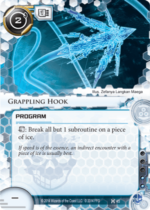Android Netrunner Grappling Hook Image