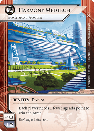 Android Netrunner Harmony Medtech: Biomedical Pioneer Image