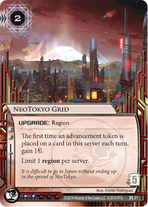 Android Netrunner NeoTokyo Grid Image