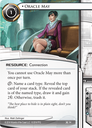 Android Netrunner Oracle May Image