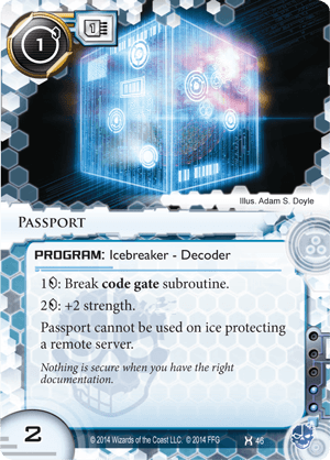 Android Netrunner Passport Image