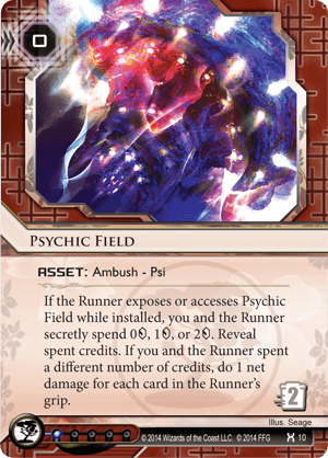 Android Netrunner Psychic Field Image