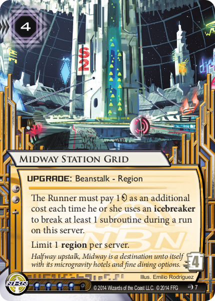 Android Netrunner Midway Station Grid Image