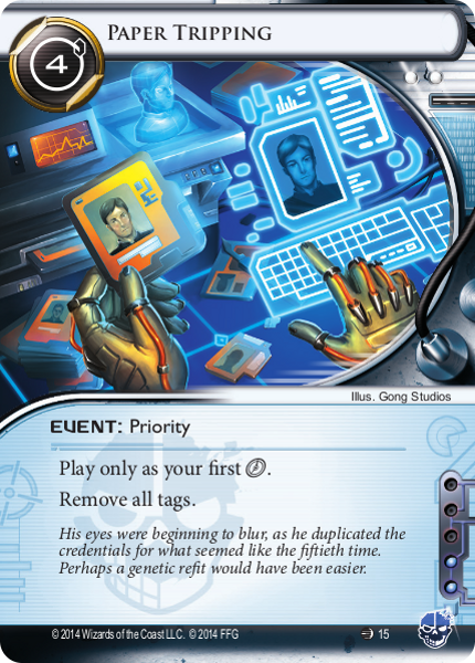 Android Netrunner Paper Tripping Image