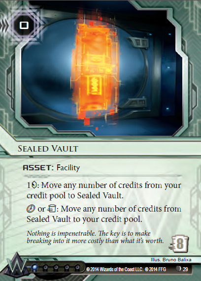 Android Netrunner Sealed Vault Image