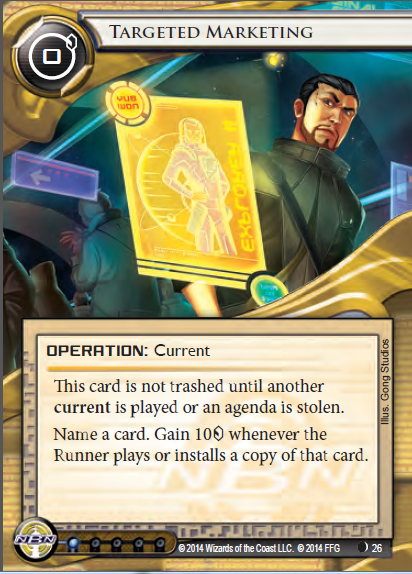 Android Netrunner Targeted Marketing Image