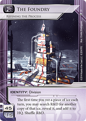 Android Netrunner The Foundry: Refining the Process Image