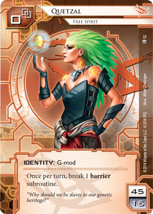 Android Netrunner Quetzal: Free Spirit Image
